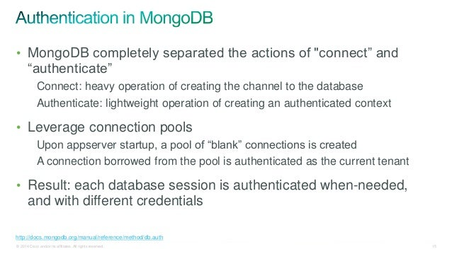 Securing MongoDB to Serve an AWS-Based, Multi-Tenant, Security-Fanati…