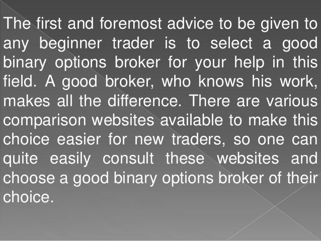 good binary options sites