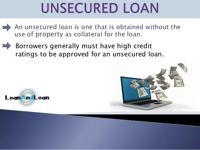 how to get approved for an unsecured loan