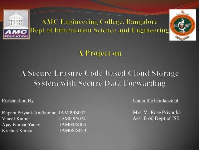 Presentation ByRupera Priyank Anilkumar 1AM09IS052Vineet Kumar 1AM09IS074Ajay Kumar Yadav 1AM09IS004Krishna Kumar 1AM06IS0...