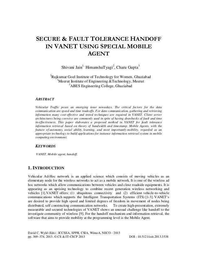 David C. Wyld (Eds) : ICCSEA, SPPR, CSIA, WimoA, NECO - 2013 pp. 369–374, 2013. © CS & IT-CSCP 2013 DOI : 10.5121/csit.201...