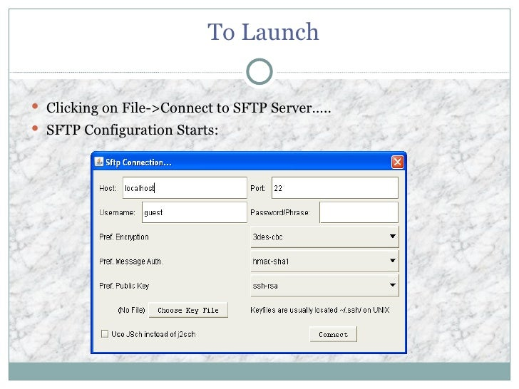 Secure Ftp Java Style Rev004