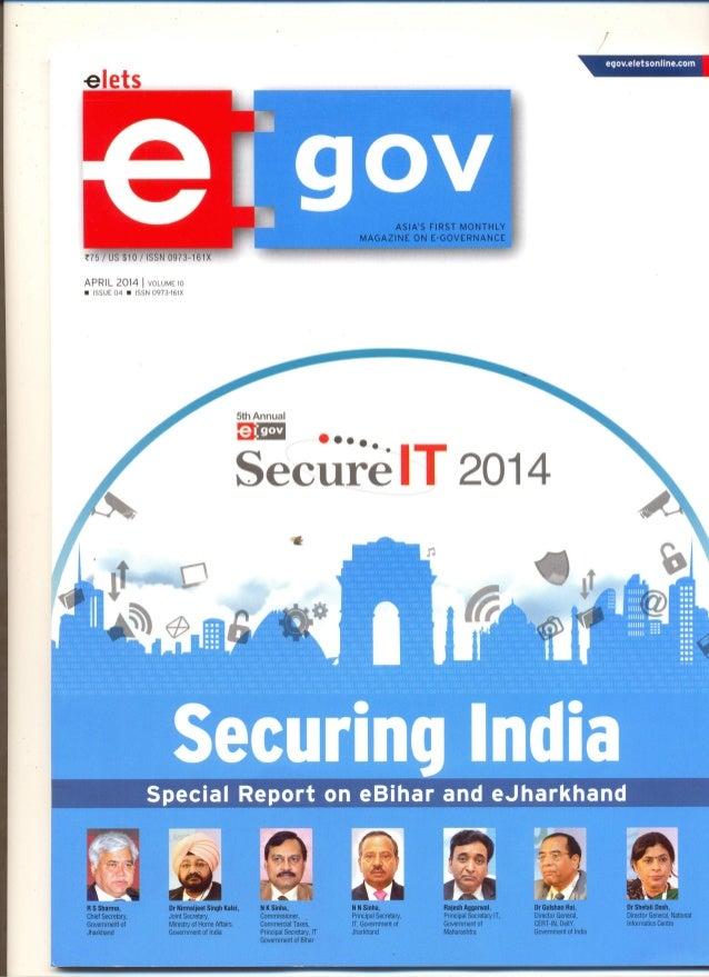 e-gov: Secure IT 2014
