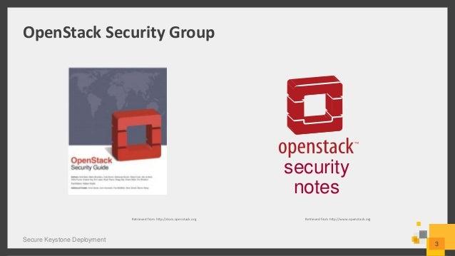 Secure Keystone Deployment Slide 3