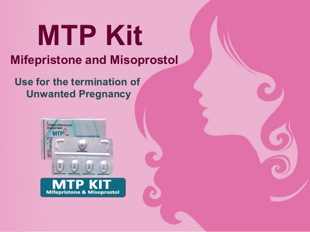 MTP Kit Mifepristone and Misoprostol Use for the termination of Unwanted Pregnancy