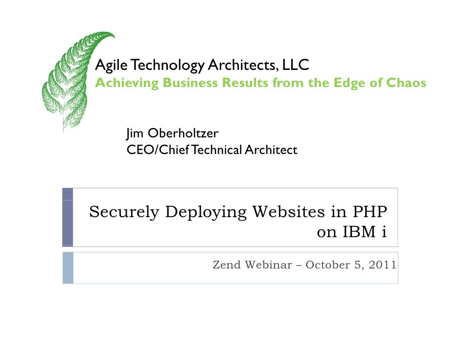 Agile Technology Architects LLC                 Architects,Achieving Business Results from the Edge of Chaos    Jim Oberho...