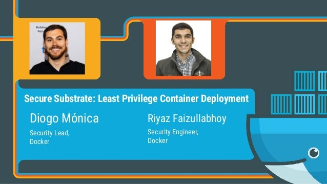 Diogo Mónica Security Lead, 