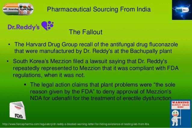 Dr reddy s warning letter fdating