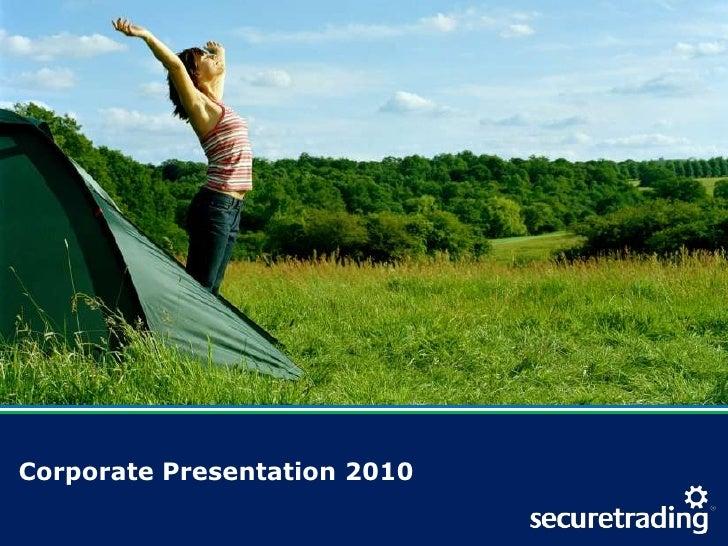 Corporate Presentation 2010<br />