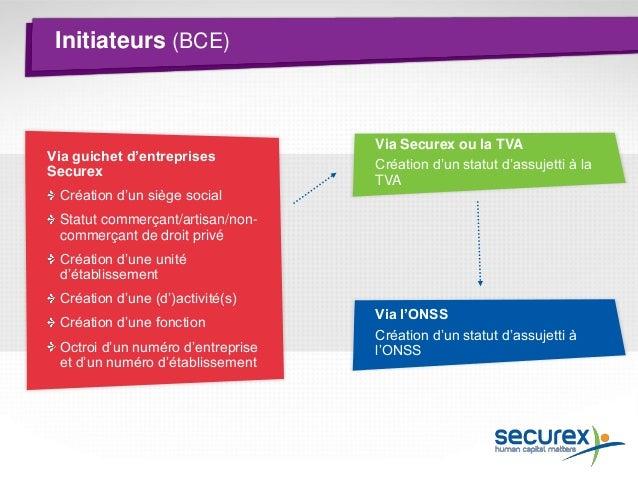 Thème 2 Droits et obligations de l'indépendant Qui est Securex ? Formalités de lancement Obligations comptables L'indépend...