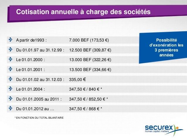Thème 3 Obligations comptables Qui est Securex ? Formalités de lancement Droits et obligations de l'indépendant L'indépend...