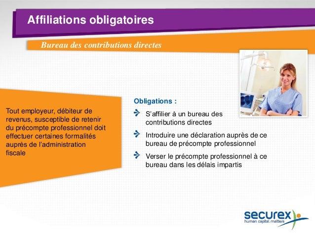 Règlement du travail  Tous les employeurs  doivent établir un règlement de travail au sein de leur entreprise  Exceptions ...
