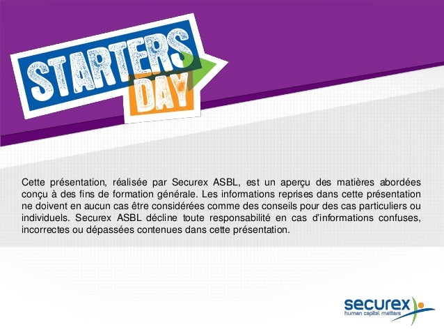 Starters Day Mons 2014 | Securex