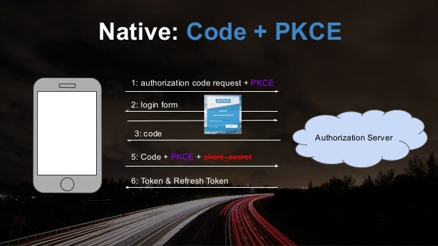 Authorization Server 1: authorization request 2: login form 3: token SPA: Implicit DEPRECATED