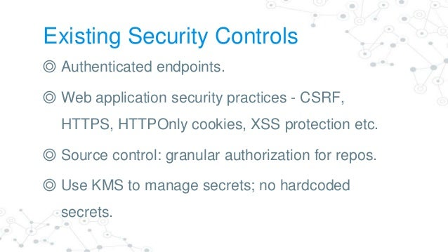 Security Patterns for Risk Reduction