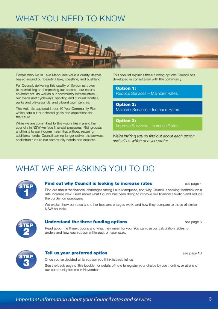Securing our Future - important information about your Council rates and services Slide 3