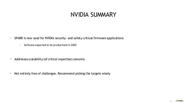 51 © 2019 NVIDIA Corporation. All rights reserved. NVIDIA and the NVIDIA logo are trademarks and/or registered trademarks ...