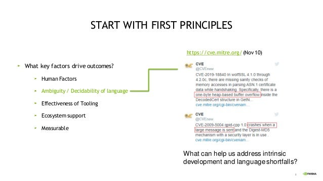 8 What can help us address intrinsic development and language shortfalls? START WITH FIRST PRINCIPLES What key factors dri...