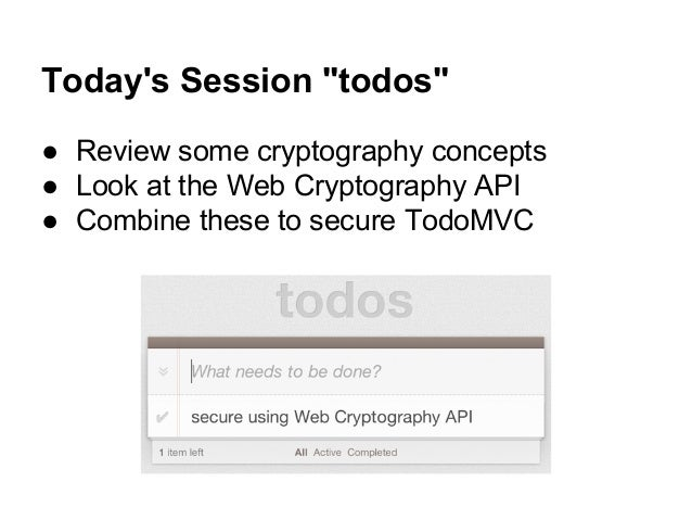 Web Crypto API - Web APIs   MDN