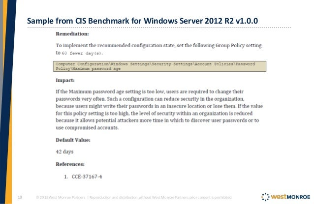Securing your Windows Network with the Microsoft Security Baselines