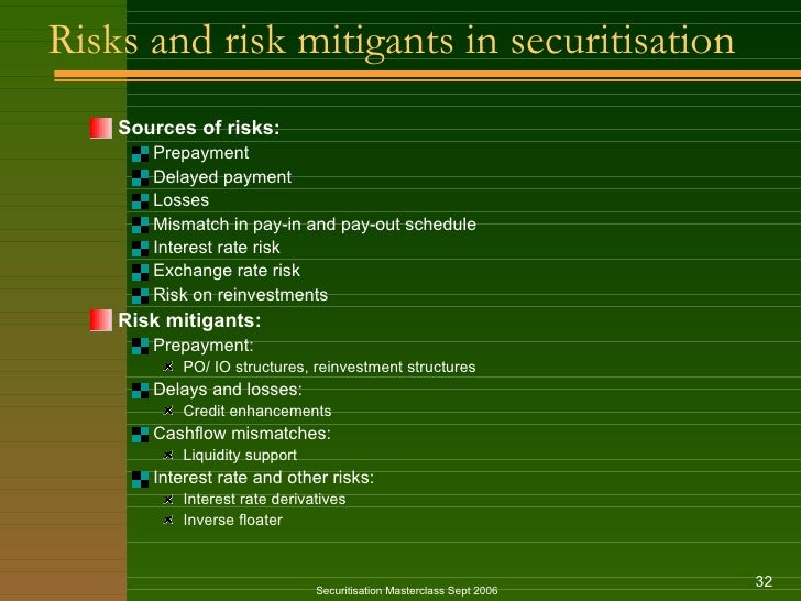 advantages and disadvantages of securitization Iflr / asset securitization: risks and opportunities for  next asset securitization: risks and opportunities for  benefits securitization gives to the.