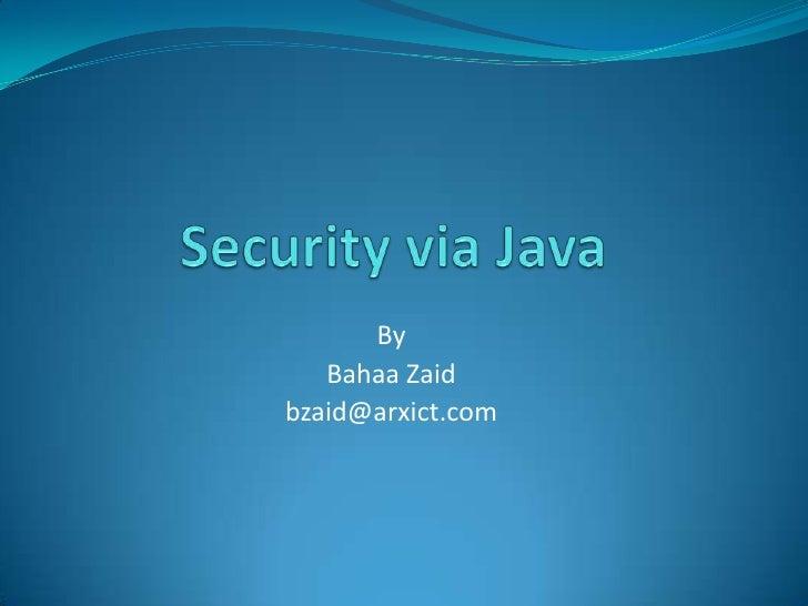 By Bahaa Zaid bzaid@arxict.com