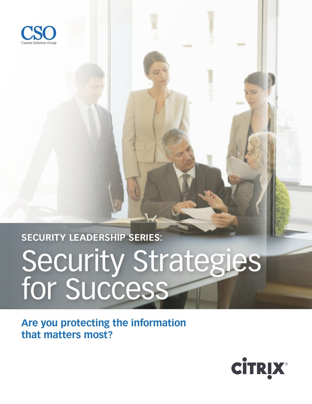 Security Strategies for Success