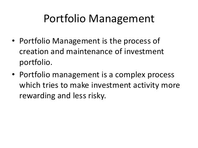 "security analysis portfolio management Security analysis and portfolio management ""national institute of technology"" ""in partial fulfilment of the requirements for the award of the degree of master."
