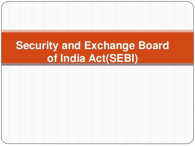 irda vs sebi Regulatory and development authority (irda), and not by the securities  exchange  and the heads of sebi, irda and the pension fund regulator key  issues and analysis  see dr dc wadhwa v state of bihar, 1987 air.