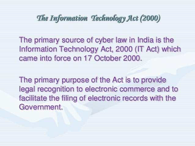 cyber law in india Pavan duggal has been acknowledged as one of the top four cyber lawyers in the world he is working in the pioneering area of cyber law while a practicing.