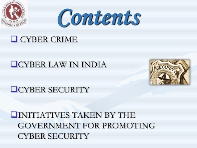 Cyber Laws in India | Internet laws in India