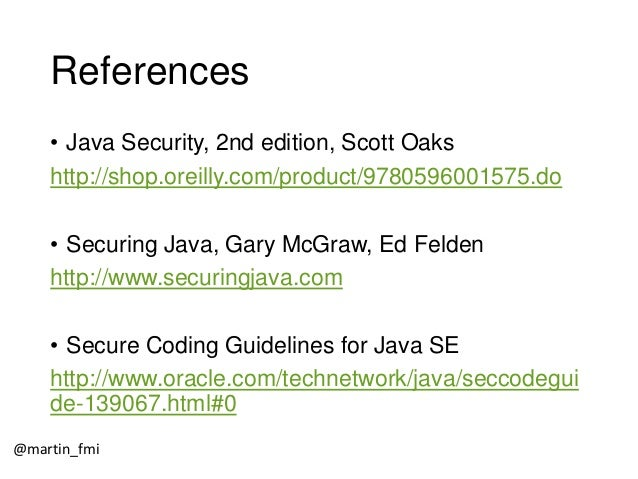 Martin Toshev - Java Security Architecture - Codemotion Rome