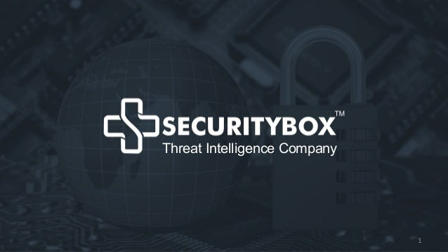 Giải pháp giám sát Quy trình làm việcThreat Intelligence Company 1