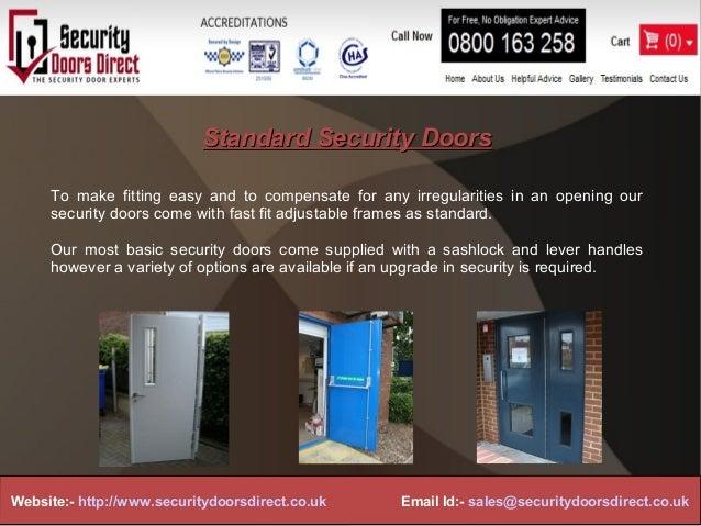 & Security doors direct ppt