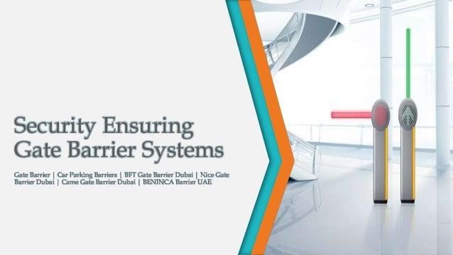 Security Ensuring Gate Barrier System | Gate Barrier