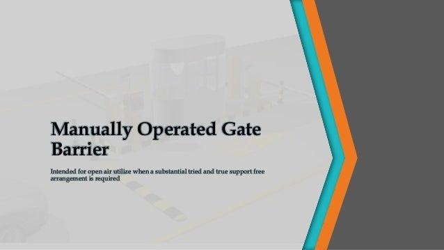 Gate Barrier | Security Ensuring Gate Barrier System