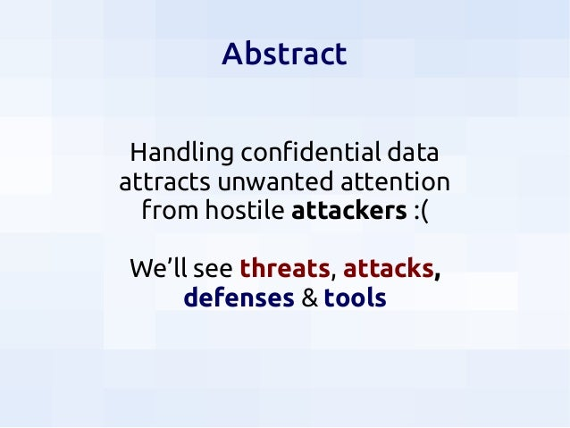 Security for Data Scientists Slide 2