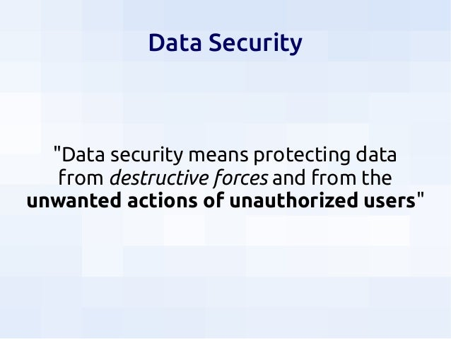 Security for Data Scientists Slide 3