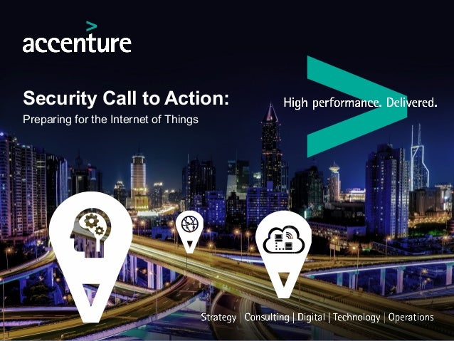 Security Call to Action: Preparing for the Internet of Things