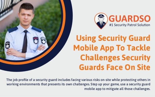 Security guard mobile app