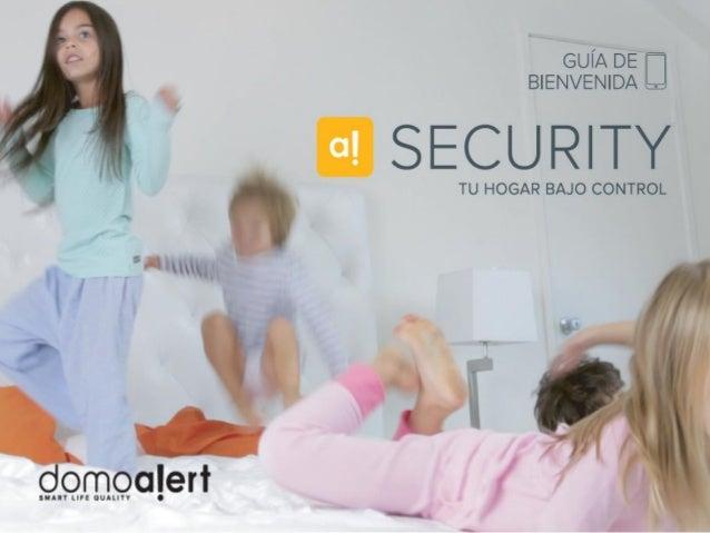 Domoalert Security Guia de Bienvenida