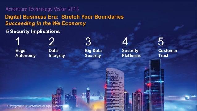 Digital Business Era: Stretch Your Boundaries Succeeding in the We Economy 3 Edge Autonomy Data Integrity Big Data Securit...