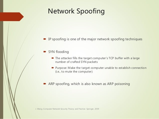 Security in network computing