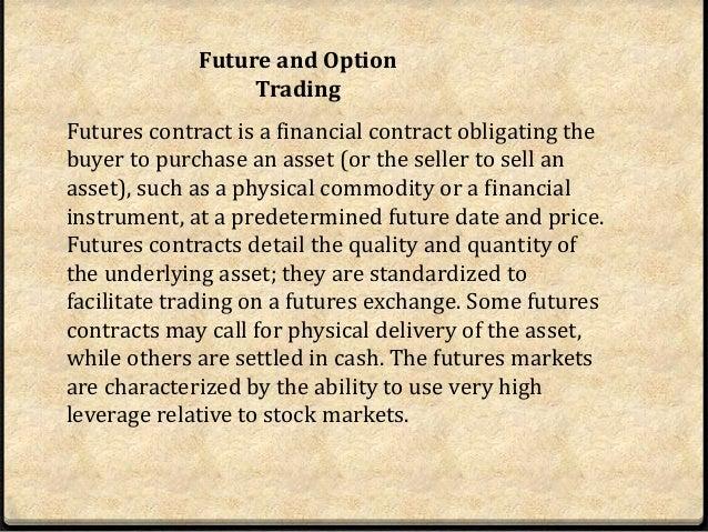 peraturan perdagangan masa depan dan opsyen