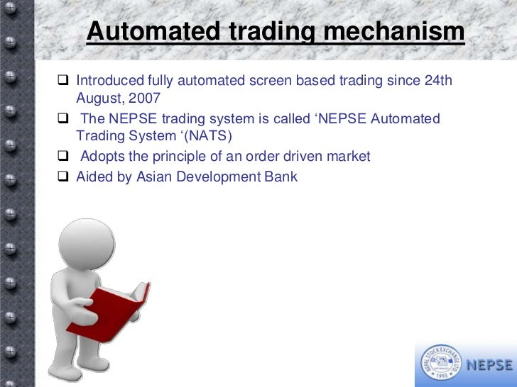 Trading system of nepse