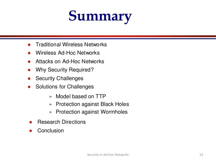 List of ad hoc routing protocols