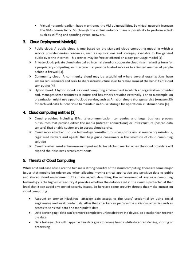 cloud computing in education literature review Literature review: cloud computing  cloud-based erp for accountants  majority of existing cloud computing literature tends to focus on the technical.