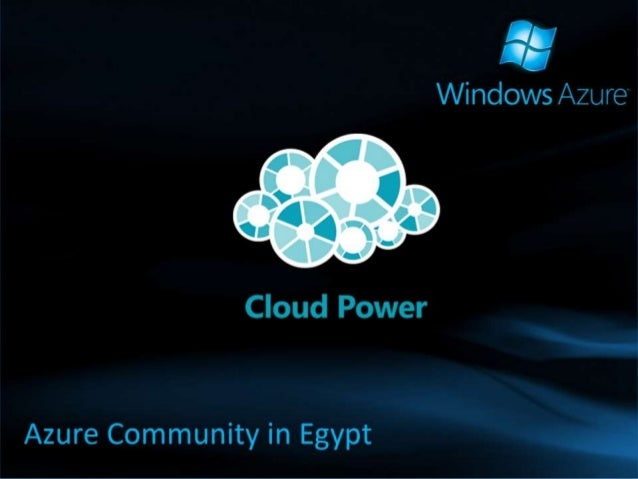 Security on Microsoft Cloud Solutions Haddy El-Haggan Microsoft Student Partner Founder of Azure Community in Egypt