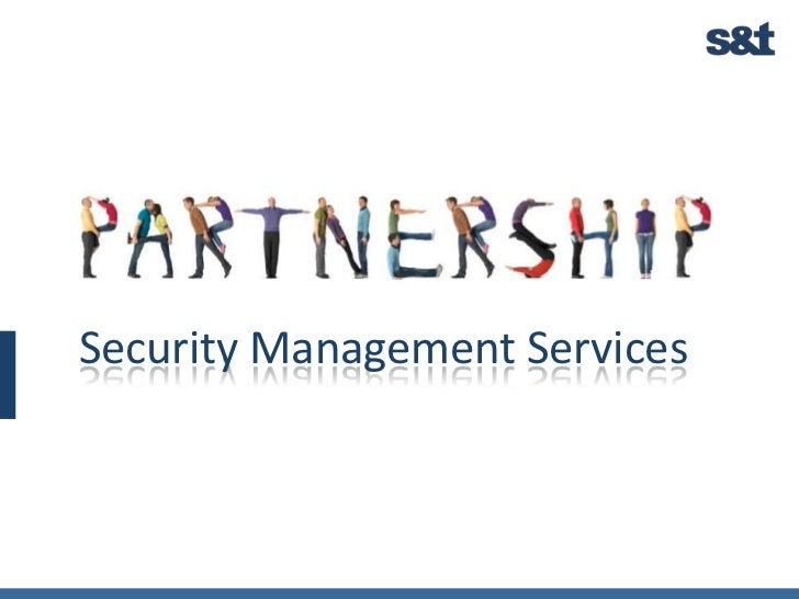 Security Management Services<br />