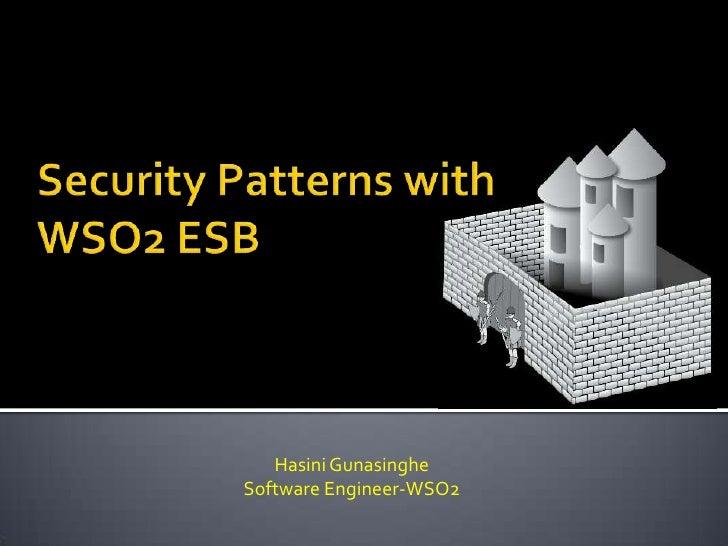 Hasini GunasingheSoftware Engineer-WSO2